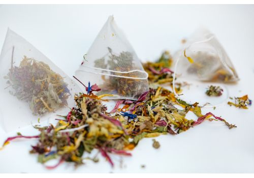 Blossom Tea, herbal tea blend, 25 biodegradable tea bags