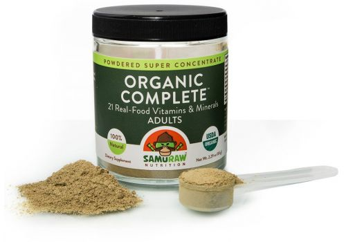 Samuraw Organic Complete for Adults - 30 Day Supply, 2.29 oz