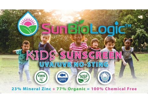 SunBioLogic Organic Sunscreen - Kids SPF 30+ (0.5 oz)